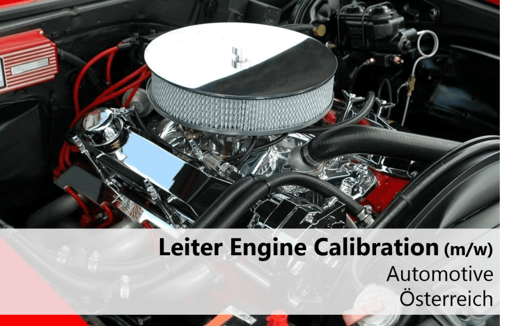 Leiter Engine Calibration