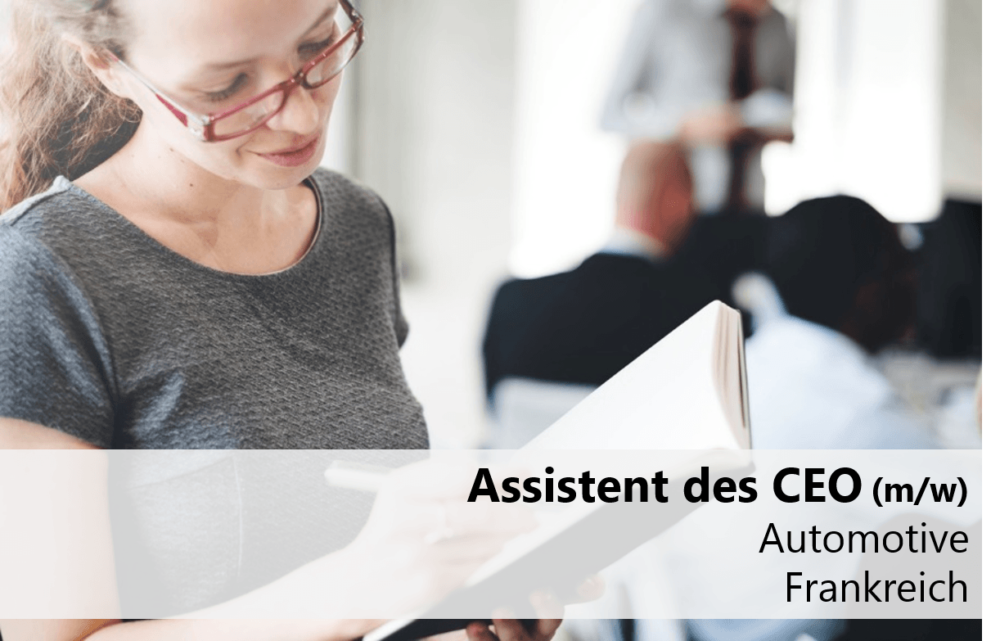 Assistent des CEO