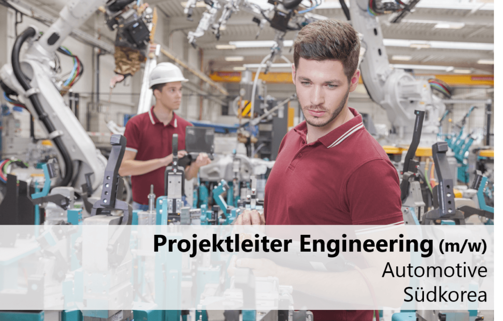 Projektleiter-Engineering